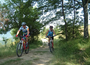 Escursioni in Mountain-Bike in Valtiberina Toscana