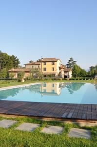 Piscina dell'Agriturismo in Umbria